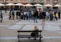 Bialystok, 04.06.2020. Oficjalny poczatek kampanii prezydenckiej Rafala Trzaskowskiego N/z zainteresowanie mieszkancow nie bylo wielkie fot Michal Kosc / AGENCJA WSCHOD