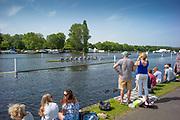 Henley on Thames, England, United Kingdom, 28th June 2019, Henley Royal Regatta Qualifiers, time trial, on Henley Reach, [© Peter SPURRIER/Intersport Image]<br /> <br /> 14:53:41