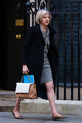 London, March 24th 2015. Members of the Cabinet gather at Downing street for their weekly meeting. PICTURED: Home Secretary Theresa May