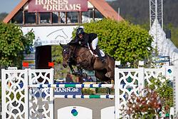PATTEET Gudrun (BEL), Fantasie VHW Z<br /> Hagen - Horses and Dreams meets the Royal Kingdom of Jordan 2018<br /> Youngster Tour für 7+8j Pferde<br /> 27. April 2018<br /> www.sportfotos-lafrentz.de/Stefan Lafrentz