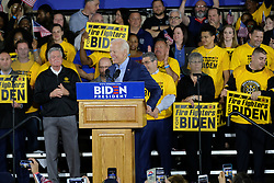 April 29, 2019 - Pittsburgh, Pennsylvania, U.S - JOE BIDEN kicks of his presidential campaign speaking to union members in Pittsburgh, Pennsylvania. (Credit Image: © Preston Ehrler/ZUMA Wire)