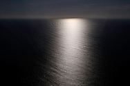 Strange light, Landing in Faial, Azores, Portugal