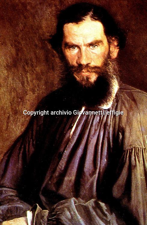 Lev Tolstoj<br />archivio Giovannetti/effigie
