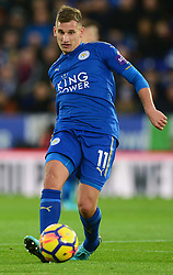 Marc Albrighton of Leicester City - Mandatory by-line: Alex James/JMP - 18/11/2017 - FOOTBALL - King Power Stadium - Leicester, England - Leicester City v Manchester City - Premier League