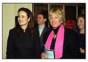 ISABEL GOLDSMITH, CAROL THATCHER, TATLER TRAVEL AWARDS, Ritz, 1998