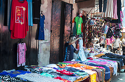 August 27, 2017 - Gaza City, The Gaza Strip, Palestine - Palestinians shop during the preparations for Eid al-Adhi in a market in Gaza City on 27 August 2017. (Credit Image: © Mahmoud Issa/Quds Net News via ZUMA Wire)