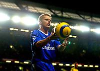 Fotball<br /> Premier League England 2004/2005<br /> 18.12.2004<br /> Foto: BPI/Digitalsport<br /> NORWAY ONLY<br /> <br /> Chelsea v Norwich City<br /> FA Barclays Premiership.<br /> 18/12/2004<br /> <br /> Scorer of Chelsea's first Damien Duff