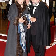 NLD/Amsterdam20151106 - Nationaal Opera Gala 2015, Mw. Martine Loon van Lanouchere en advocaat Oscar Hammerstein