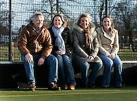 Familie Goll voor de HC Bloemendaal Mus+. COPYRIGHT KOEN SUYK