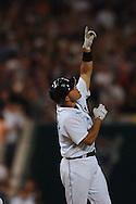 "COPYRIGHT DAVID RICHARD.Ivan ""Pudge"" Rodriguez.Cleveland Indians at Detroit Tigers, July 4, 2007"