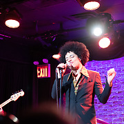 Lead vocalist Josè James plays selections from the Bill Withers songbook at the Iridium Ballroom in Manhattan with Takeshi Ohbayashi on keys, Marcus Machado, on guitar, Aneesa Strings on bass, and Aaron Steele on the drums