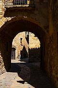 The medieval town of Pals, in Baix Emporda, Catalonia, Spain. La ciutat medieval de Pals, al Baix Empordà, Catalunya, Espanya.La ville médiévale de Pals, dans le Baix Emporda, Catalogne, Espagne. La ciudad medieval de Pals, en el Baix Emporda, Cataluña, España.