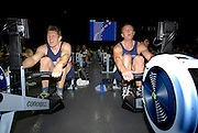 Birmingham, GREAT BRITAIN, men's 35-39 HWT, left Gavin ALLISON and Nik FLEMING, competing at the British Indoor Rowing Championships, National Indoor Arena, Birmingham, ENGLAND. 12/11/2006, [Photo, Peter Spurrier/Intersport-images].....