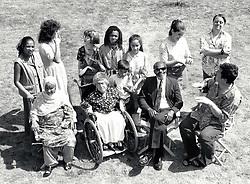 Group of people, UK 1995