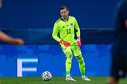 NICE, FRANCE - Wednesday, June 2, 2021: Wales' goalkeeper Daniel Ward during an international friendly match between France and Wales at the Stade Allianz Riviera ahead of the UEFA Euro 2020 tournament. (Pic by Simone Arveda/Propaganda)