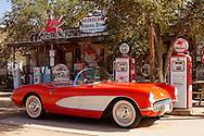 Route 66, Hackberry General Store, 1957 Corvette, Arizona