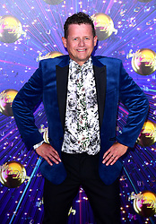 Mike Bushell arriving at the red carpet launch of Strictly Come Dancing 2019, held at BBC TV Centre in London, UK.