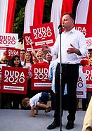 Wiec wyborczy Andrzeja Dudy w Białymstoku
