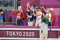 Kiss and Cry, Team USA<br /> Olympic Games Tokyo 2021<br /> © Hippo Foto - Dirk Caremans<br /> 24/07/2021