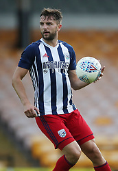 """West Bromwich Albion's Jay Rodriguez during the pre-season friendly match at Vale Park, Stoke. PRESS ASSOCIATION Photo. Picture date: Tuesday August 1, 2017. See PA story SOCCER Port Vale. Photo credit should read: Nick Potts/PA Wire. RESTRICTIONS: EDITORIAL USE ONLY No use with unauthorised audio, video, data, fixture lists, club/league logos or """"live"""" services. Online in-match use limited to 75 images, no video emulation. No use in betting, games or single club/league/player publications."""