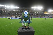The Super Rugby Trans-Tasman trophy.<br /> Blues v Highlanders, Sky Super Rugby Trans-Tasman Final. Eden Park, Auckland. New Zealand. Saturday 19 June 2021. © Copyright Photo: Andrew Cornaga / www.photosport.nz