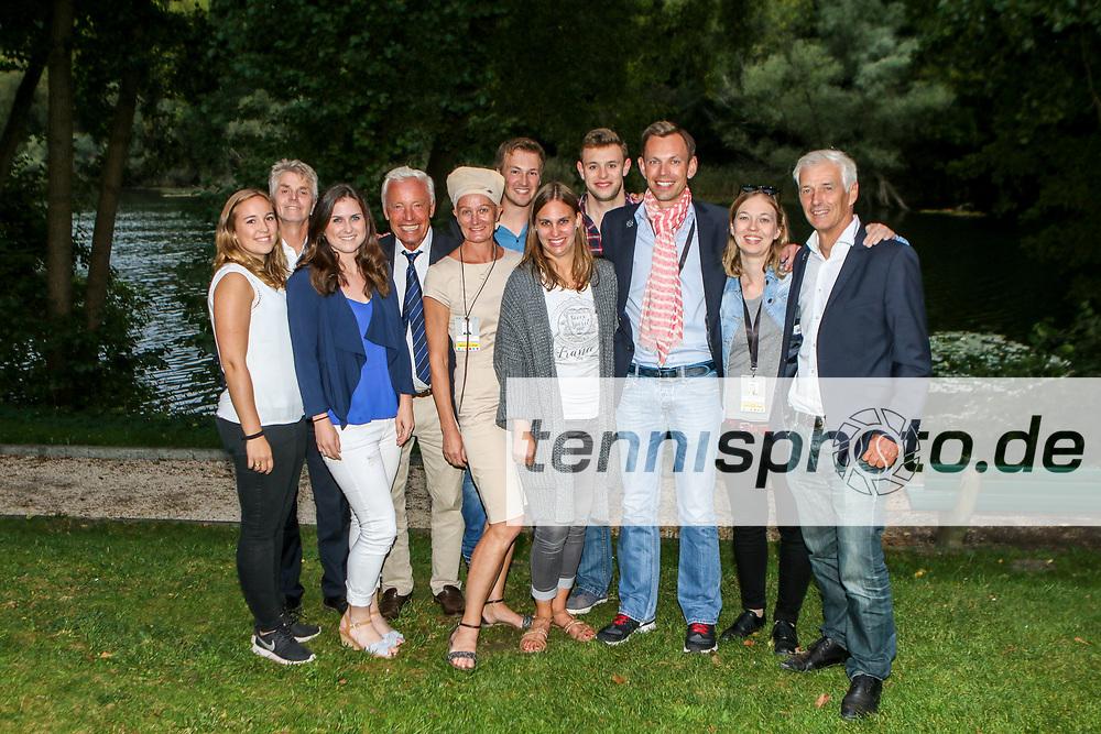 Team-Gruppenfotos, Davis Cup Relegation Deutschland vs. Polen, LTTC Rot-Weiss, Berlin, 16.-18.09.2016, Foto: Claudio Gärtner