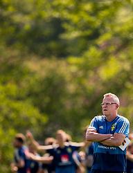 May 29, 2018 - BÃ¥Stad, Sverige - 180529 Förbundskapten Janne Andersson under Sveriges fotbollslandslags träning den 29 maj 2018 i BÃ¥stad  (Credit Image: © Petter Arvidson/Bildbyran via ZUMA Press)
