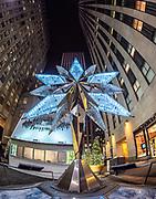 Swarovski Star for Rockefeller Center Christmas Tree, NYC