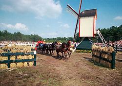 Four in hand<br /> World Equestrian Games Den Haag 1994<br /> © Hippo Foto - Dirk Caremans
