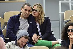 May 29, 2019 - Paris, France, FRANCE - Zinedine Soualem et sa compagne Caroline Faindt (Credit Image: © Panoramic via ZUMA Press)