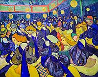 France, Paris (75), zone classée Patrimoine Mondial de l'UNESCO, Musée d'Orsay, La Salle de danse à Arles, Vincent Van Gogh // France, Paris, Orsay museum, La Salle de danse à Arles, Vincent Van Gogh
