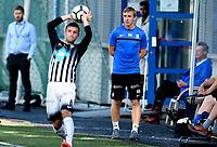 Fotball , 2. september 2017 , 2. divisjon herrer , PostNord-ligaen<br /> Asker - Alta<br /> trener for Asker , Kevin Nicol