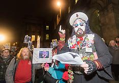Trump Protest   Edinburgh   20 January 2017