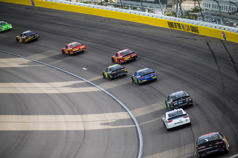 Mar 03, 2018  Las Vegas, NV, U.S.A.  Nascar drivers going into turn 2 during the Nascar Xfinity series Boyd Gaming 300 at Las Vegas Motor Speedway Las Vegas, NV.  Thurman James / CSM