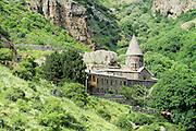 Armenia, Azat Valley, Monastery of Geghard