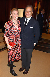 CHARLES FINCH and PRINCESS DORA LOEWENSTEIN at a party at Ralph Lauren, Bond Street, London in support of the NSPCC's Full Stop campaign on 21st March 2006.<br />