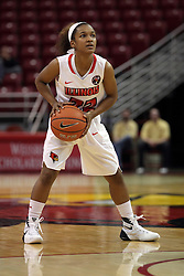 21 December 2015:  Shakeela Fowler(22). Illinois State University Women's Basketball team hosted The Cougars of Chicago State at Redbird Arena in Normal Illinois.