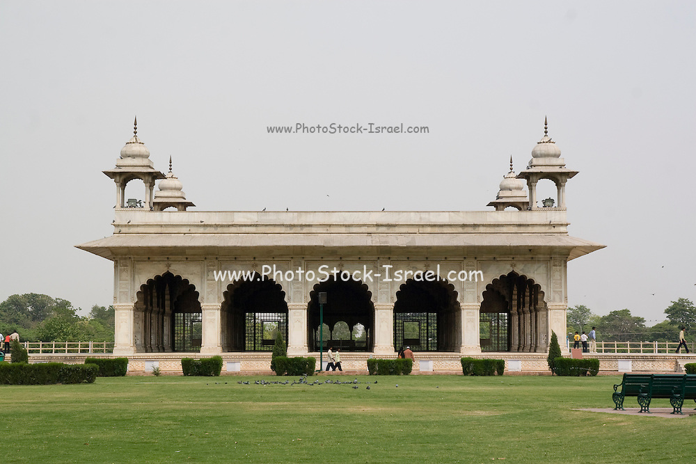 India, Delhi, The Red Fort Diwan i Khas (Hall of Private Audiences)