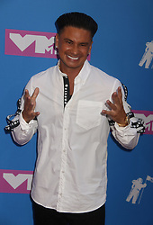 August 20, 2018 - New York City, New York, U.S. - PAULY D attends the arrivals for the 2018 MTV 'VMAS' held at Radio City Music Hall. (Credit Image: © Nancy Kaszerman via ZUMA Wire)