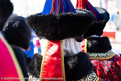 Celebrating Sagaalgan, the Buryatian lunar New Year, in Sovetov Square in Ulan-Ude in Siberia, Russia. Monday, February 24, 2020. Photography ©2020 Michael Lichter.
