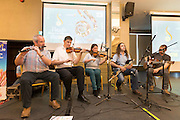 Musical entertainment at the Fleadh  Cheoil na hÉireann Inis 2016 information evening at Treacy's West County Hotel on Thursday evening. Photograph by Eamon Ward