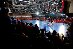 Arena Kodeljevo during 3rd Main Round of Women Champions League handball match between RK Krim Mercator, Ljubljana and Larvik HK, Norway on February 19, 2010 in Arena Kodeljevo, Ljubljana, Slovenia. Larvik defeated Krim 34-30. (Photo by Vid Ponikvar / Sportida)
