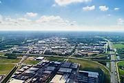 Nederland, Utrecht, Veenendaal, 29-05-2019; Rijksweg A12, knoopppunt Maanderbroek.<br /> <br /> Motorway A12.<br /> luchtfoto (toeslag op standard tarieven);<br /> aerial photo (additional fee required);<br /> copyright foto/photo Siebe Swart