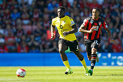 Callum Wilson of AFC Bournemouth chases after Micah Richards of Aston Villa - Mandatory by-line: Jason Brown/JMP - Mobile 07966 386802 08/08/2015 - FOOTBALL - Bournemouth, Vitality Stadium - AFC Bournemouth v Aston Villa - Barclays Premier League - Season opener