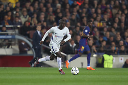 March 14, 2018 - Barcelona, Spain - NGOLO KANTE of Chelsea FC during the UEFA Champions League, round of 16, 2nd leg football match between FC Barcelona and Chelsea FC on March 14, 2018 at Camp Nou stadium in Barcelona, Spain (Credit Image: © Manuel Blondeau via ZUMA Wire)