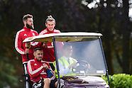 310815 Wales football team training