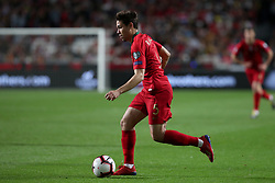 March 22, 2019 - Lisbon, Portugal - Portugal's defender Raphael Guerreiro in action during the UEFA EURO 2020 group B qualifying football match Portugal vs Ukraine, at the Luz Stadium in Lisbon, Portugal, on March 22, 2019. (Credit Image: © Pedro Fiuza/NurPhoto via ZUMA Press)