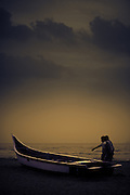 Fishermen at Dawn - Chennai, India