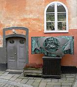 Innergård på Mariaberget vid Hornsgataspuckeln på Södermalm.