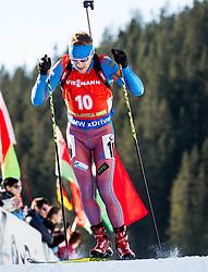 Alexey Volkov (RUS) during Men 12,5 km Pursuit at day 3 of IBU Biathlon World Cup 2015/16 Pokljuka, on December 19, 2015 in Rudno polje, Pokljuka, Slovenia. Photo by Vid Ponikvar / Sportida